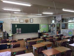 LED化した教室